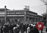 Image of Cannery workers Stockton California USA, 1937, second 16 stock footage video 65675041426