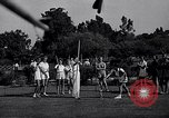 Image of Archery girls Los Angeles California USA, 1937, second 9 stock footage video 65675041450