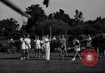 Image of Archery girls Los Angeles California USA, 1937, second 10 stock footage video 65675041450