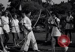 Image of Archery girls Los Angeles California USA, 1937, second 11 stock footage video 65675041450