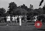 Image of Archery girls Los Angeles California USA, 1937, second 20 stock footage video 65675041450