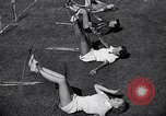 Image of Archery girls Los Angeles California USA, 1937, second 28 stock footage video 65675041450
