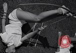 Image of Archery girls Los Angeles California USA, 1937, second 43 stock footage video 65675041450