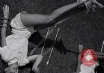 Image of Archery girls Los Angeles California USA, 1937, second 44 stock footage video 65675041450