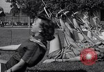 Image of Archery girls Los Angeles California USA, 1937, second 50 stock footage video 65675041450