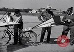 Image of designed bicycle Van Nuys California USA, 1937, second 28 stock footage video 65675041454