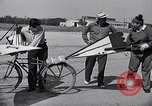 Image of designed bicycle Van Nuys California USA, 1937, second 29 stock footage video 65675041454