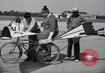 Image of designed bicycle Van Nuys California USA, 1937, second 32 stock footage video 65675041454