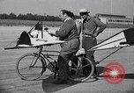 Image of designed bicycle Van Nuys California USA, 1937, second 36 stock footage video 65675041454