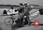 Image of designed bicycle Van Nuys California USA, 1937, second 38 stock footage video 65675041454