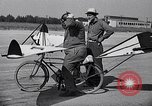 Image of designed bicycle Van Nuys California USA, 1937, second 39 stock footage video 65675041454