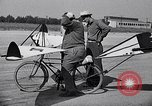 Image of designed bicycle Van Nuys California USA, 1937, second 41 stock footage video 65675041454