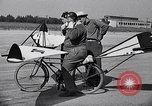 Image of designed bicycle Van Nuys California USA, 1937, second 42 stock footage video 65675041454