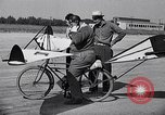 Image of designed bicycle Van Nuys California USA, 1937, second 43 stock footage video 65675041454