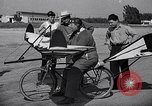 Image of designed bicycle Van Nuys California USA, 1937, second 57 stock footage video 65675041454