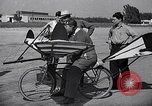 Image of designed bicycle Van Nuys California USA, 1937, second 58 stock footage video 65675041454