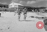 Image of Students Bermuda Island, 1950, second 23 stock footage video 65675041467