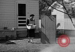 Image of Louella Gallagher knife throwing stunt Austin Texas USA, 1950, second 11 stock footage video 65675041468