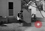 Image of Louella Gallagher knife throwing stunt Austin Texas USA, 1950, second 12 stock footage video 65675041468