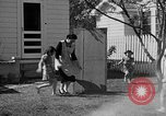 Image of Louella Gallagher knife throwing stunt Austin Texas USA, 1950, second 13 stock footage video 65675041468