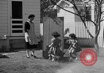 Image of Louella Gallagher knife throwing stunt Austin Texas USA, 1950, second 14 stock footage video 65675041468