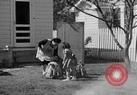 Image of Louella Gallagher knife throwing stunt Austin Texas USA, 1950, second 16 stock footage video 65675041468