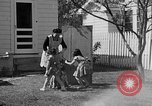 Image of Louella Gallagher knife throwing stunt Austin Texas USA, 1950, second 17 stock footage video 65675041468
