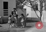 Image of Louella Gallagher knife throwing stunt Austin Texas USA, 1950, second 18 stock footage video 65675041468