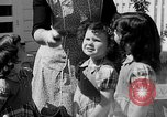 Image of Louella Gallagher knife throwing stunt Austin Texas USA, 1950, second 19 stock footage video 65675041468