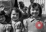 Image of Louella Gallagher knife throwing stunt Austin Texas USA, 1950, second 26 stock footage video 65675041468