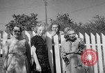 Image of Louella Gallagher knife throwing stunt Austin Texas USA, 1950, second 33 stock footage video 65675041468