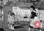 Image of Louella Gallagher knife throwing stunt Austin Texas USA, 1950, second 36 stock footage video 65675041468