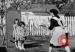 Image of Louella Gallagher knife throwing stunt Austin Texas USA, 1950, second 37 stock footage video 65675041468