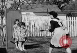 Image of Louella Gallagher knife throwing stunt Austin Texas USA, 1950, second 38 stock footage video 65675041468