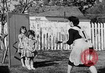 Image of Louella Gallagher knife throwing stunt Austin Texas USA, 1950, second 40 stock footage video 65675041468