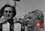 Image of Louella Gallagher knife throwing stunt Austin Texas USA, 1950, second 53 stock footage video 65675041468