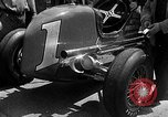 Image of rocket powered race car in Indianapolis Indianapolis Indiana USA, 1946, second 1 stock footage video 65675041470