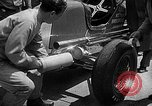Image of rocket powered race car in Indianapolis Indianapolis Indiana USA, 1946, second 2 stock footage video 65675041470