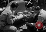 Image of rocket powered race car in Indianapolis Indianapolis Indiana USA, 1946, second 3 stock footage video 65675041470