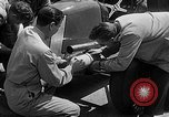 Image of rocket powered race car in Indianapolis Indianapolis Indiana USA, 1946, second 7 stock footage video 65675041470