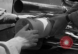 Image of rocket powered race car in Indianapolis Indianapolis Indiana USA, 1946, second 9 stock footage video 65675041470