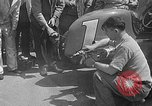 Image of rocket powered race car in Indianapolis Indianapolis Indiana USA, 1946, second 25 stock footage video 65675041470
