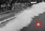 Image of rocket powered race car in Indianapolis Indianapolis Indiana USA, 1946, second 45 stock footage video 65675041470