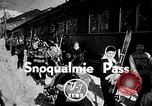 Image of Ken Syverson Snoqualmie Pass Washington USA, 1948, second 2 stock footage video 65675041474