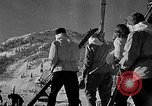 Image of Ken Syverson Snoqualmie Pass Washington USA, 1948, second 6 stock footage video 65675041474