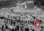 Image of Ken Syverson Snoqualmie Pass Washington USA, 1948, second 15 stock footage video 65675041474