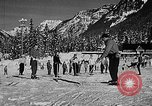Image of Ken Syverson Snoqualmie Pass Washington USA, 1948, second 22 stock footage video 65675041474