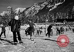 Image of Ken Syverson Snoqualmie Pass Washington USA, 1948, second 32 stock footage video 65675041474