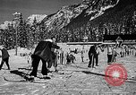 Image of Ken Syverson Snoqualmie Pass Washington USA, 1948, second 34 stock footage video 65675041474