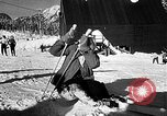Image of Ken Syverson Snoqualmie Pass Washington USA, 1948, second 47 stock footage video 65675041474